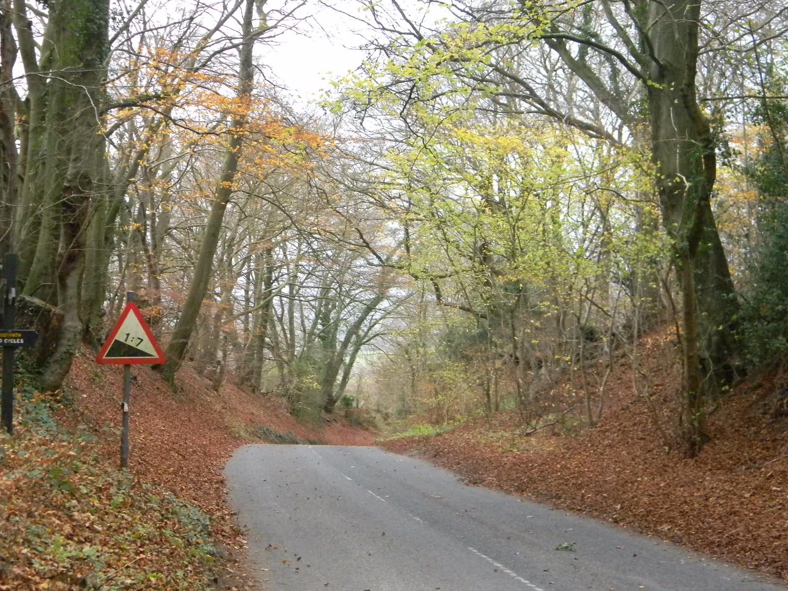 Crossing a road Princes Risborough to Wendover