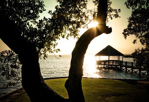 sunset summer sun sunlight beach water sunshine bay pier nc oak sand warm mood sundown walk live north shoreline gazebo retro deck shore sound carolina relaxed sandybeach treatment sunward skynoircom bybilldickinsonskynoircom