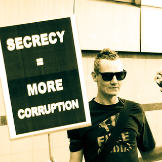 Secrecy = more corruption | by MastaBaba