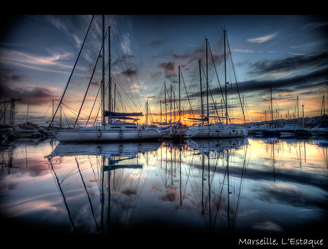 ★ Marseille, port de l'estaque ~ Karim SAARI ©