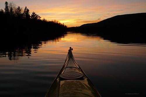 ocean sunset lake reflection water colors clouds evening kayak novascotia view kayaking seakayak capebreton brasdor brasdorlakes littlenarrows littlenarrowsferry nspp perfectescapes