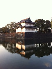 A part of Tokyo Imperial Palace.
