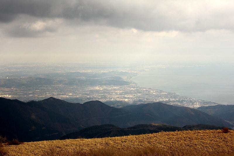 箱根駒ヶ岳から東京方面