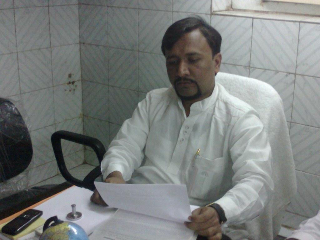 Mehmood Hakimi, Media Secretary, Anjuman Bashindgaan-e-Bih