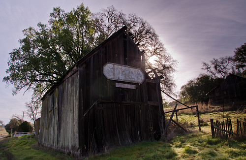 Old shed along route 128