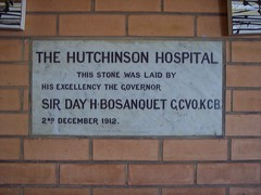 Hutchinson Hospital, Commemoration Stone, 2nd December 1912.