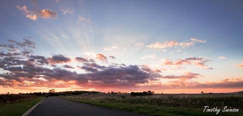 sunset clouds australia queensland toowoomba timothyswinson kingbobnet