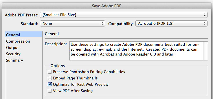 Save Adobe PDF options | Matt Gemmell | Flickr