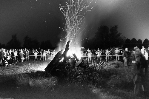 Homecoming Parade and Bon Fire | by ericlwoods