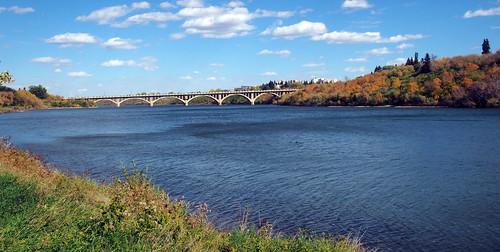 bridge water river olympus saskatoon saskatchewan southsaskatchewanriver omd saskatchewanriver em5