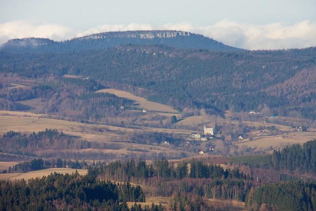 Szczeliniec z Gór Orlickich