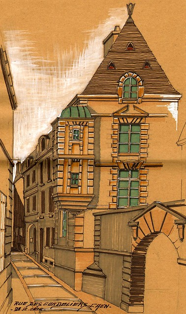 Rue des Cordeliers  2 Caen