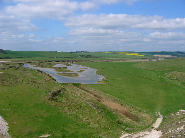 View over the Cuckmere Valley