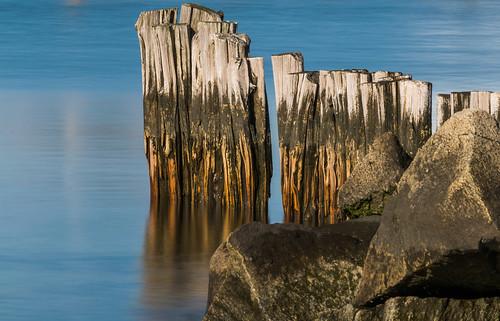 clinton connecticut hdr nikon nikond5300 outdoor beach geotagged longexposure ocean reflection reflections shore water unitedstates