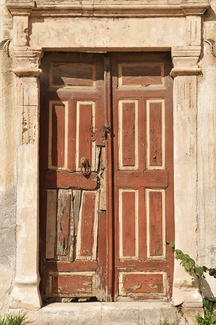 Old door Sitia Crete
