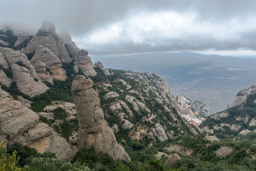 Pel Camí Nou de Sant Jeroni de Montserrat