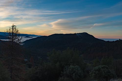 sierranevada auberry california unitedstates us pineridge mountains sunrise