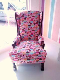 Digitális dekorvásznaink segítségével akár ilyen egyedi és különleges fotelt is készíthettek! :)