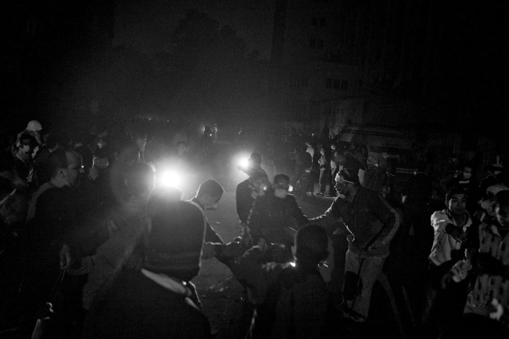 The Front Line - Mohamed Mahmoud Street شارع محمد محمود