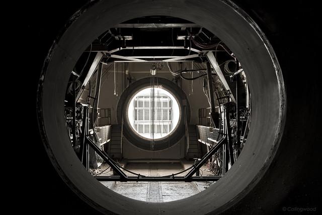 The Starship exhaust port