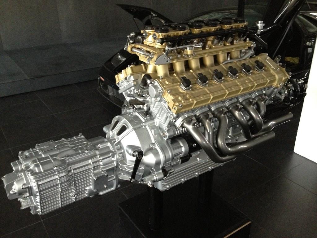 Lamborghini Engine 6 0 V12 GT | iPhone Pics | Theo | Flickr