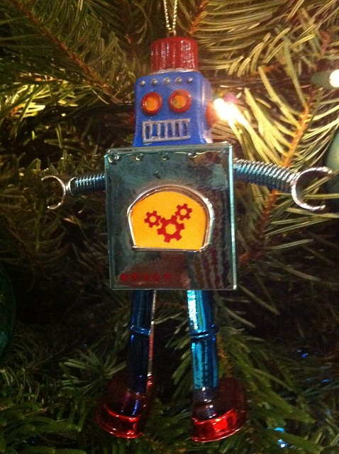 All I want for Christmas is robots!