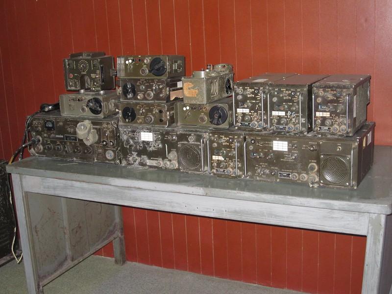 Radio Equipment in the Bunker