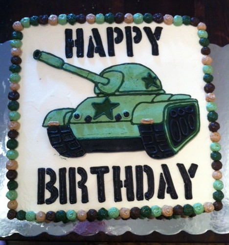 Super Military Tank Birthday Cake Hayleycakesandcookies Com Flickr Funny Birthday Cards Online Elaedamsfinfo
