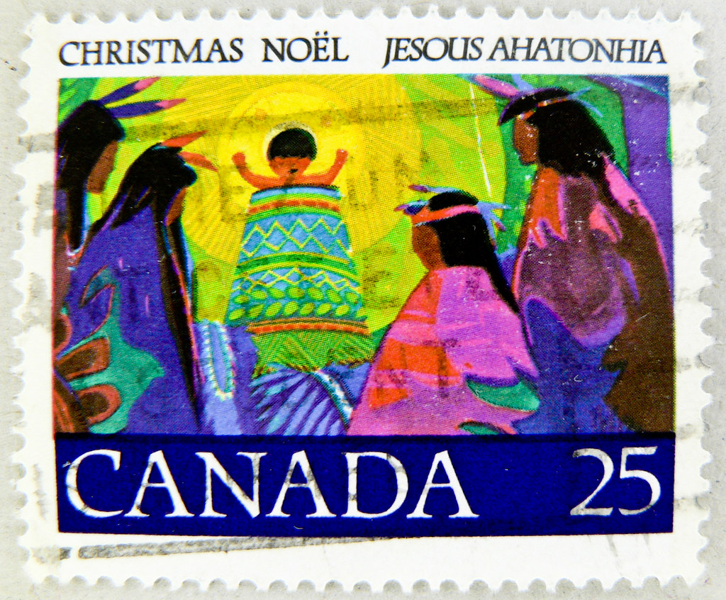 Top Ten Weihnachtsessen.Great Christmas Stamp Canada Noel 25c Xmas Postes Timbre N Flickr