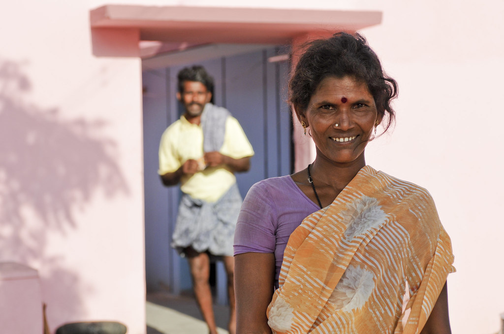 Image result for wife and husband in villages