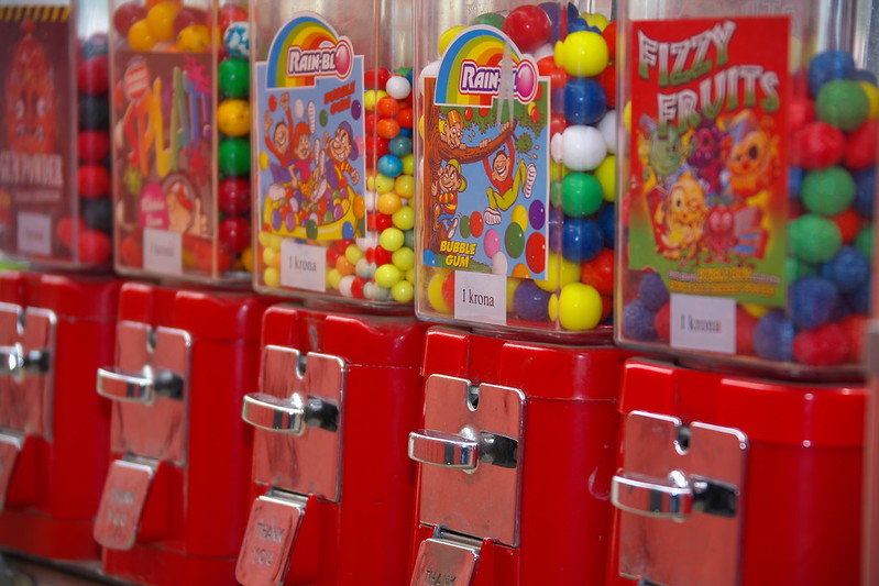 Chewing gum machines