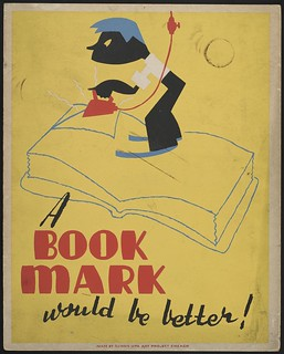 A book mark would be better! (LOC) | by The Library of Congress