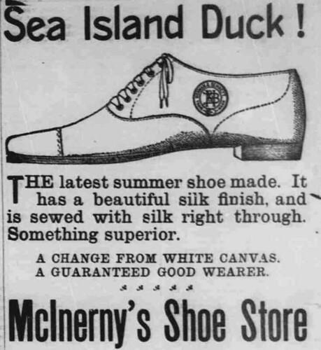 Ad: Sea Island Duck Shoe