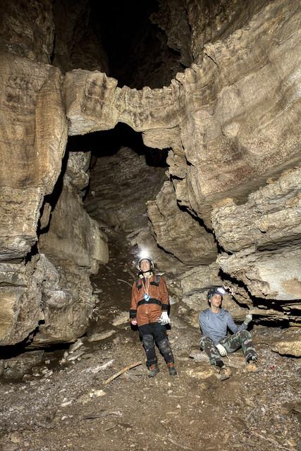 Arch, Kristen Bobo, Andrew Luttrell, Broady Cave, Dekalb Co, TN