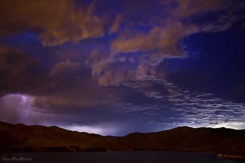 lighting summer storm clouds idaho boise lightpollution fotocompetitionbronze luckypeakreservior