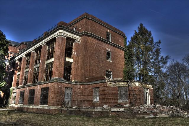 Abandoned Glen Dale Hospital