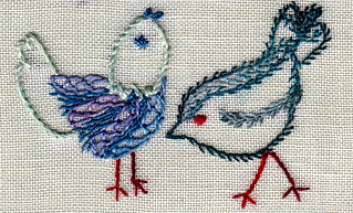 Feather Stitch - birds | by carorose