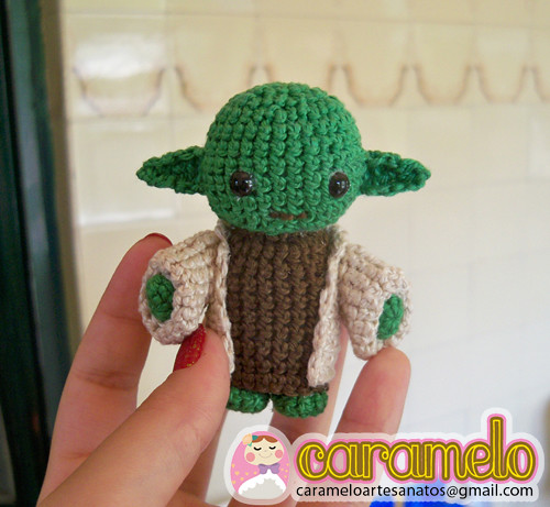 Mestre Yoda ( versão chibi ) Amigurumi Tutorial - YouTube ...   461x500