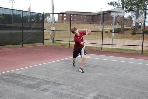 Tennis Action Shots