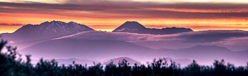sunset newzealand nature canon volcano taupo ruapehu hdr canoneosdigitalrebelxt