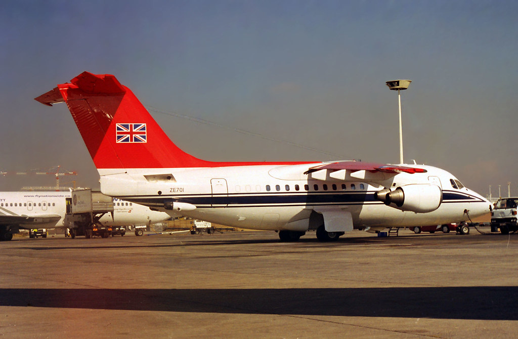 RAF Bae 146-100 CC2 ZE701