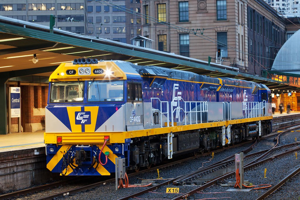 CF4406 at Sydney Terminal by Trent