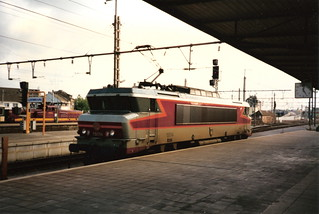 SNCF Class BB 15000 no. 15015, Luxembourg-Ville   by bindonlane