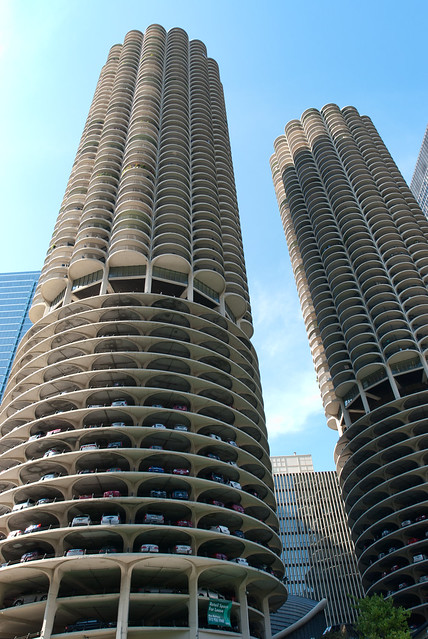 Marina City, Chicago - the 'corn cobs'