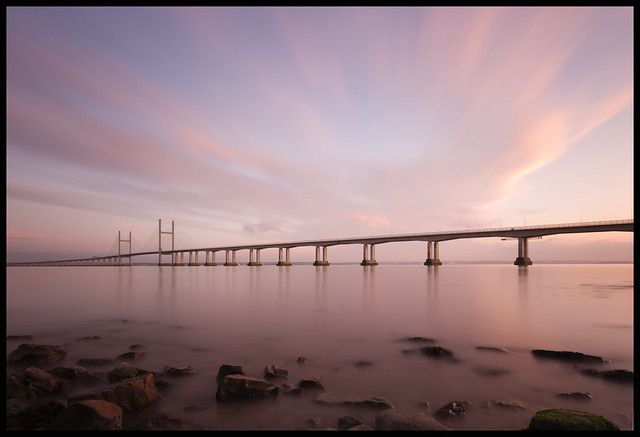 Second Severn Crossing - Long Exposure