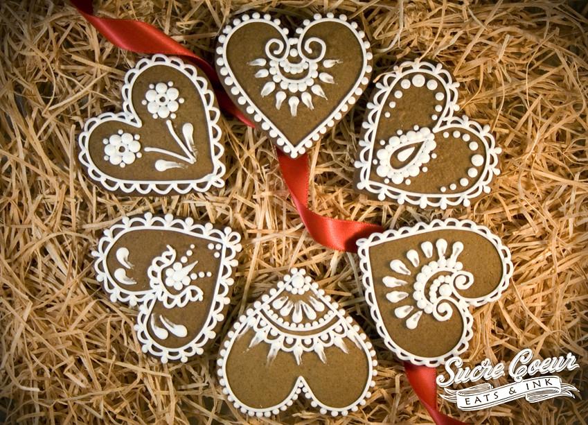 Iced Gingerbread Cookies Iced Gingerbread Cookies Flickr
