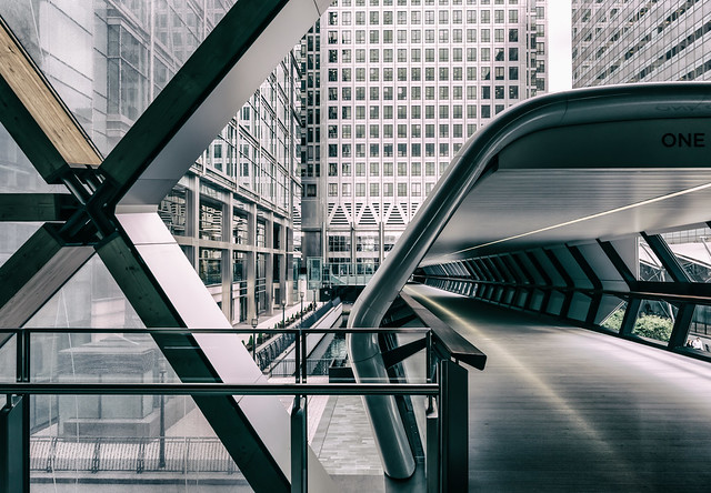 The New Icon - A Brand New World Canary Wharf by Simon Hadleigh-Sparks