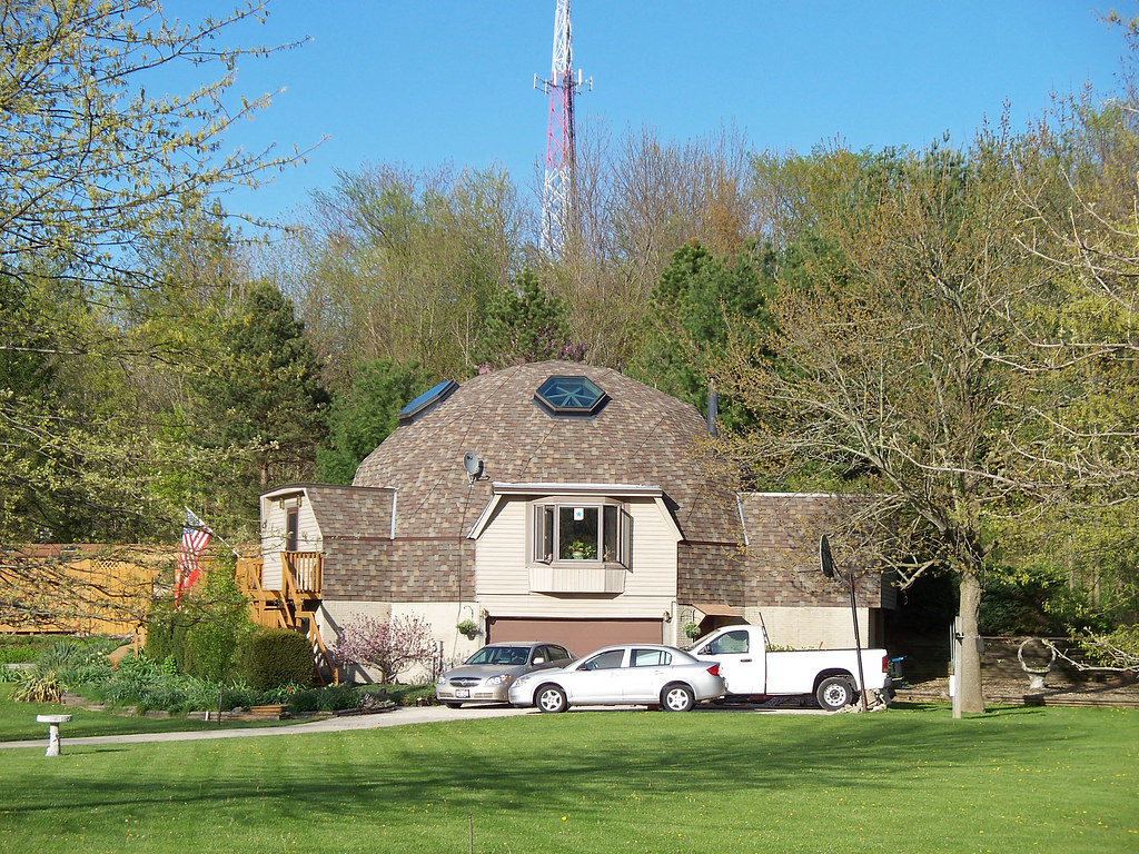 Oh Wellington Dome House Dome Shaped House Near Wellingt Flickr