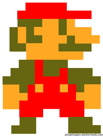 8-bit mario | I'm in the process of making another one soon