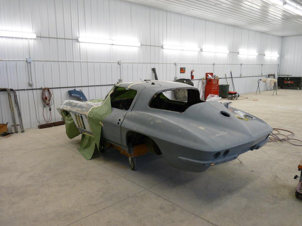 Corvette in the works